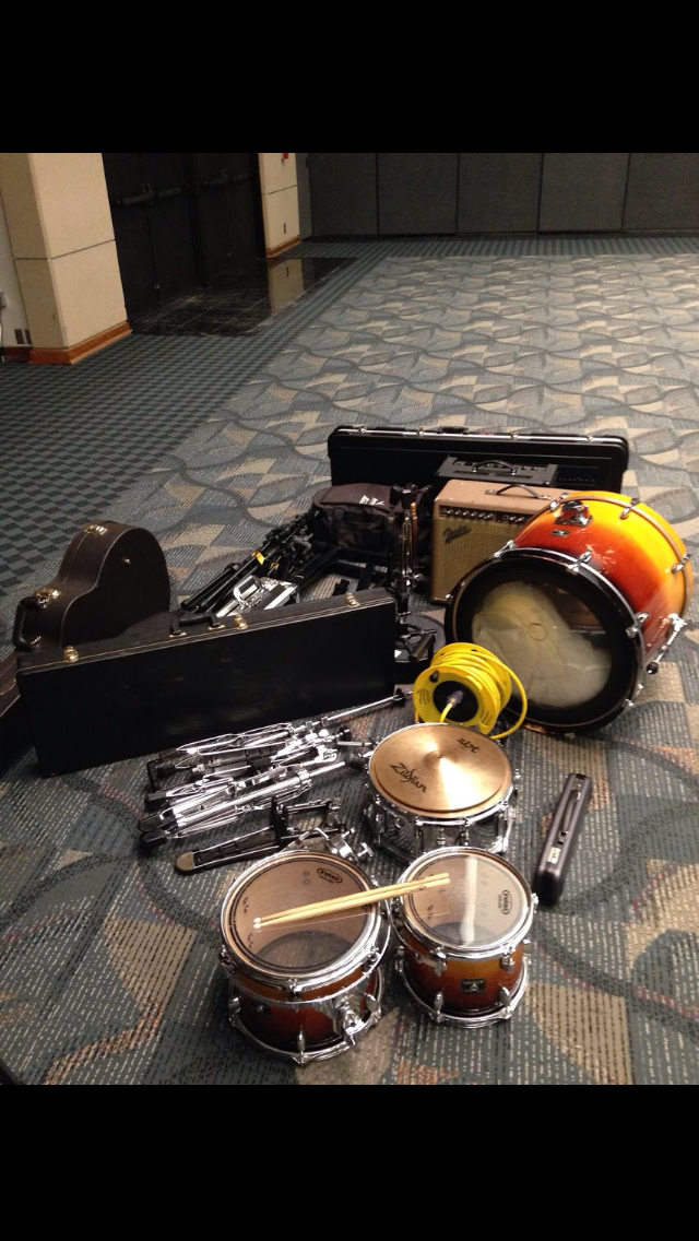 Some of our music equipment